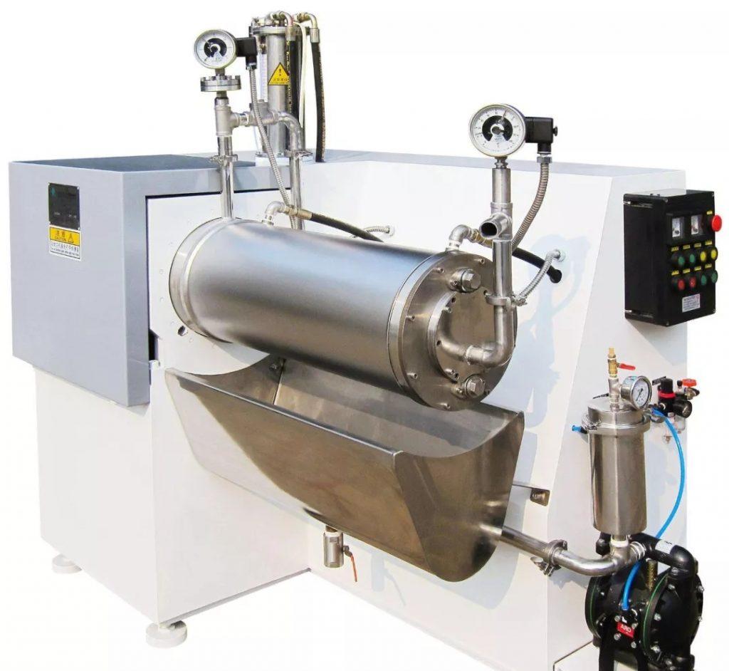 Wet Superfine Crushing Process