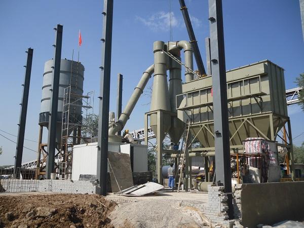 Gypsum ultrafine powder mill