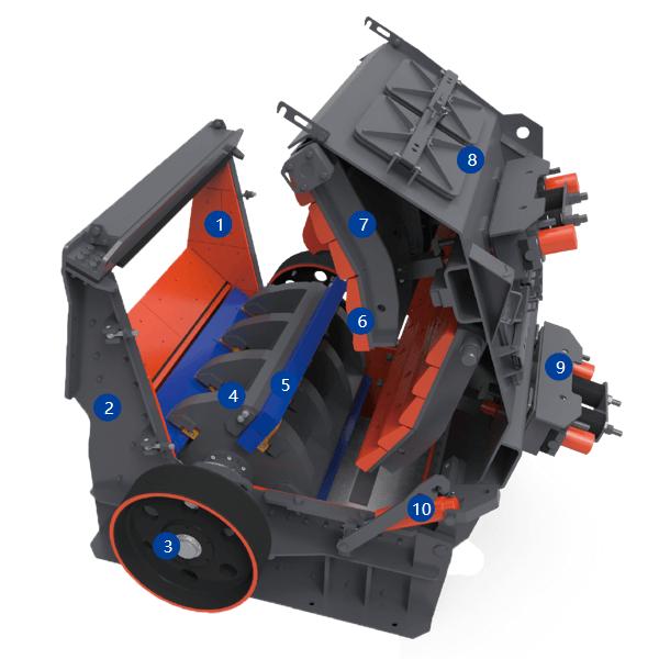ultrafine vertical mill
