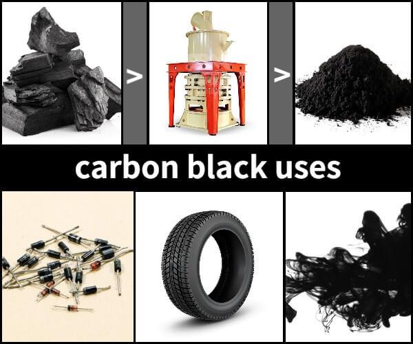 carbon black uses