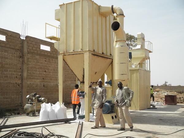 Limestone Ultrafine Vertical Grinding Mill – Case in Mali