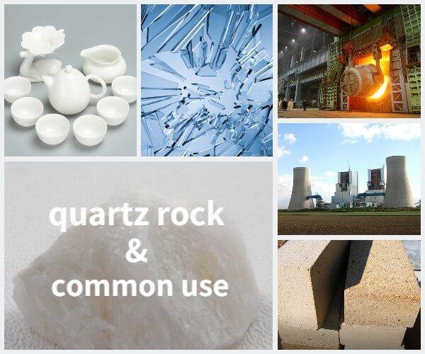 raw material quartz