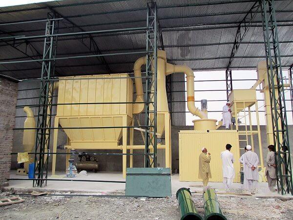 Quartz Vertical Grinding Mill